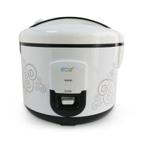 Eco+ Rice Cooker 1.8 Liter White Color