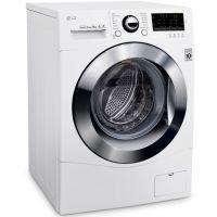 LG 9 KG Auto Front Loading Washing Machine White